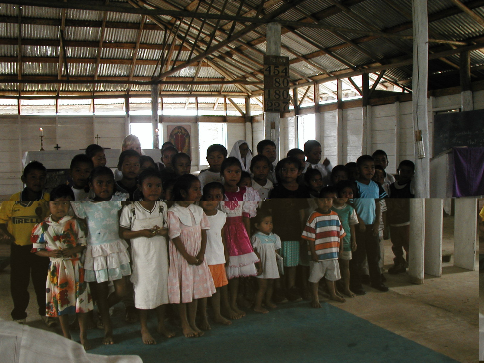 Sunday School children in Jawalla village